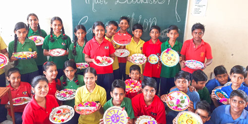 Creating a bond of love: Rakhi Making, Thali Decoration and Singing Competition