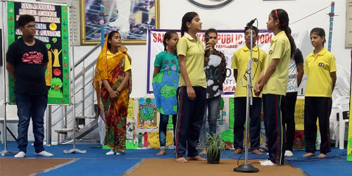 Special Assembly on Go Green and Say No To Plastic