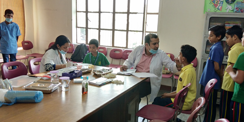 Dental Check-up and Awareness Camp