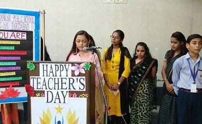 Teacher's Day Celebration