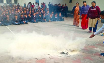 First Aid Training and Mock Drill for Disaster Management