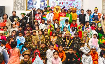 Fancy Dress Competition at S.N. Pre School, Faridabad